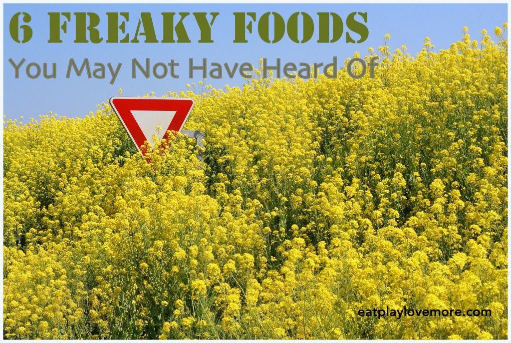 6 Freaky Foods You May Not Have Heard Of