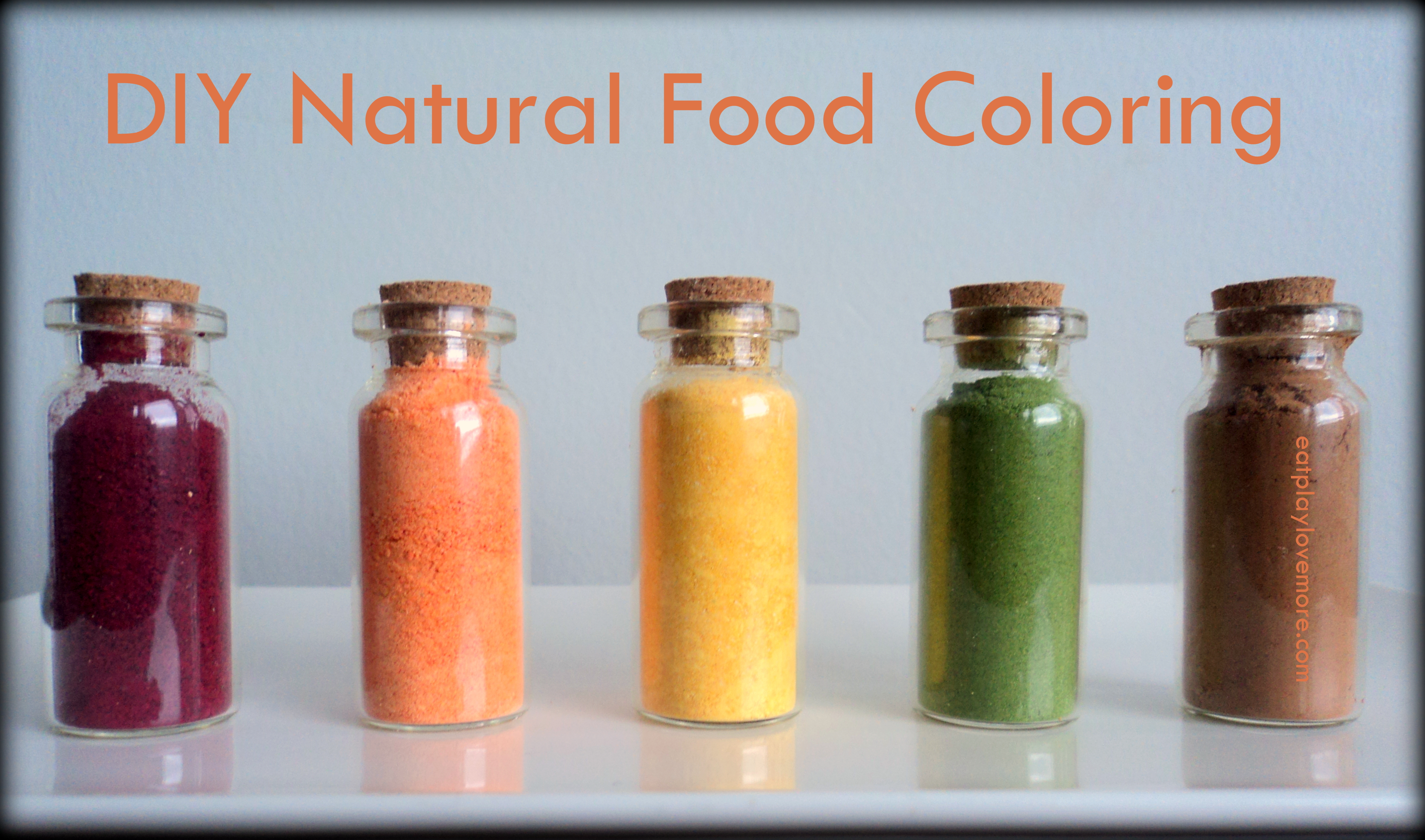 Green Food Colouring Natural