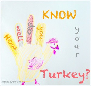 How Well Do You Know Your Turkey?