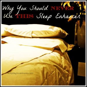 Why you should NEVER Use THIS Sleep Enhancer