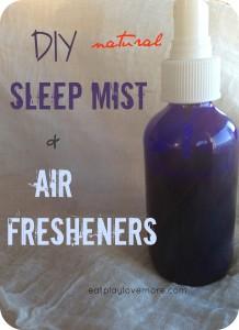 DIY Natural Sleep Mist