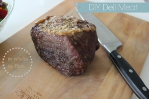DIY Deli Meat -no nitrates, no fillers