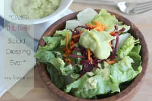 OMG! The best salad dressing ever! Paleo, AIP, Vegetarian, Gluten Free