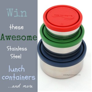 Giveaway-Stainless Steel Lunch Container Giveaway