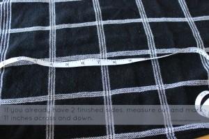 DIY Upcycled Everyday Cloth Napkins
