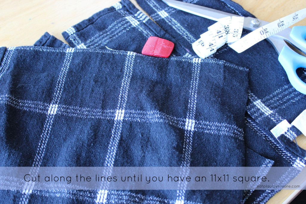 DIY Upcycled Everyday Cloth Napkin