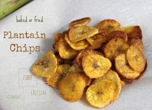 Plantain Chips – Your New Healthy Snack