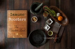 Immune Boosters – The Master List