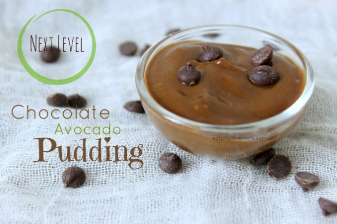 *Next Level* Chocolate Avocado Pudding