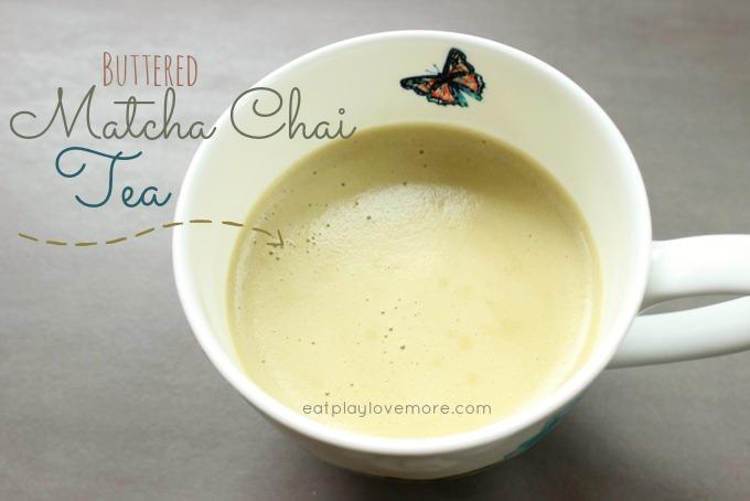 DIY Buttered Matcha Chai Tea