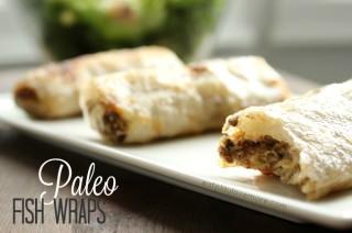 Paleo Fish Wraps