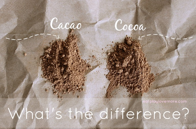 Cacao vs. Cocoa. Which is healthier?