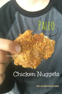Paleo Gluten Free Chicken Nuggets (No Almond Flour)