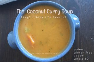The Best Thai Coconut Curry Soup (Paleo)