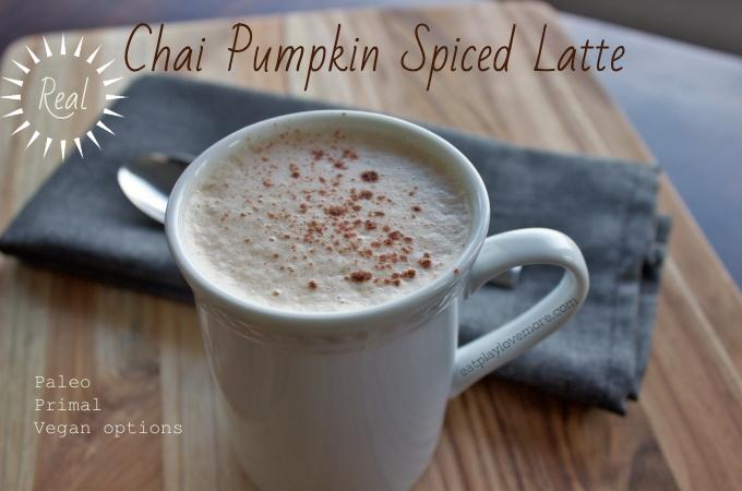 REAL Chai Pumpkin Spiced Latte